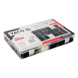 Yato YT-06657 műanyag patent készlet 408db-os nissan