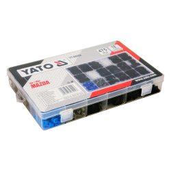Yato YT-06658 műanyag patent készlet 475 részes mazda yato