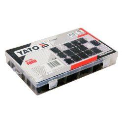 Yato YT-06660 műanyag patent készlet 415db-os ford