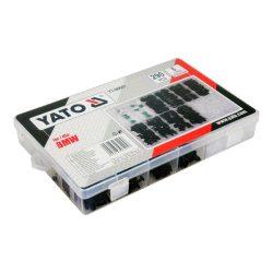 Yato YT-06661 műanyag patent készlet 290 részes bmw yato