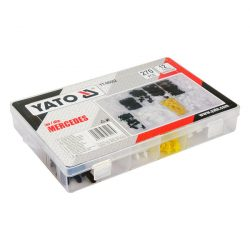 Yato YT-06662 műanyag patent készlet 270 részes mercedes yato