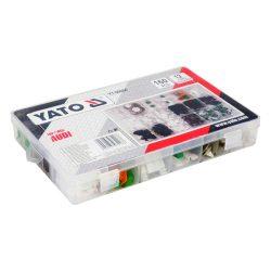 Yato YT-06664 műanyag patent készlet 160 részes audi yato