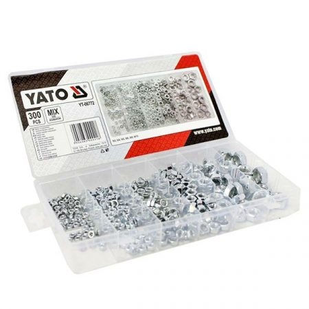 Yato YT-06772 NUTS metrikus menet készlet (300 db/cs)