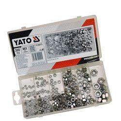 Yato YT-06773 NUTS metrikus rozsdamentes acél menet készlet (300 db/cs)
