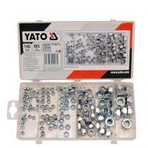 Yato YT-06774 NUTS metrikus menet készlet (146 db/cs)
