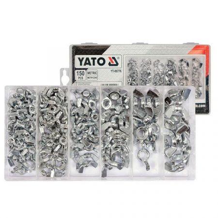Yato YT-06776 Szárnyas csavaranya 150 részes
