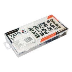 Yato YT-06790 íves retesz készlet 80 db yato