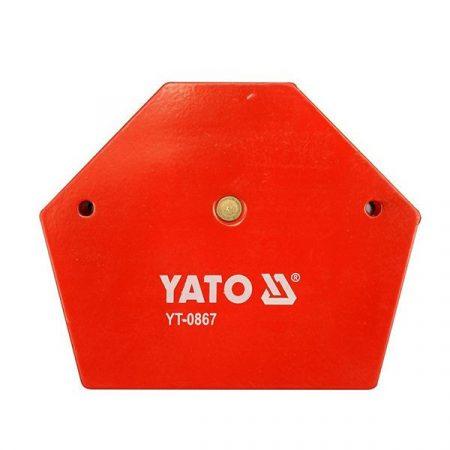 Yato YT-0867 Hegesztési munkadarabtartó mágneses 111x136x24 34kg