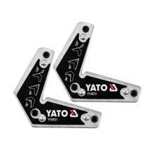 Yato YT-08721 Hegesztési munkadarabtartó mágneses 60-90-120 fok 10kg (2db/cs)