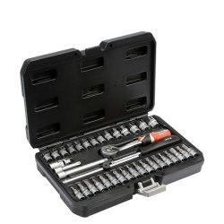 Yato YT-14471 Dugókulcs készlet 38 részes 1/4 coll: 3,5-14 mm S2 1/4 coll
