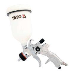 Yato YT-2340 festékszóró pisztoly fe. tart.hvlp 0,6l 410 l/min yato