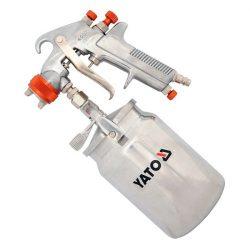 Yato YT-2346 festékszóró pisztoly alsó tart.1l 1,8 mm yato