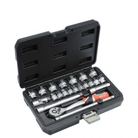 Yato YT-38561 Dugókulcs készlet 22 részes 3/8 coll 6-22 mm