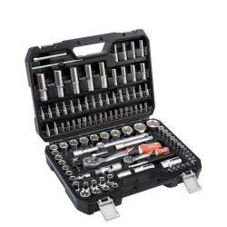 Yato YT-38791 Dugókulcs készlet 108 részes 1/2 coll 10-32mm, 1/4 coll 4-14mm CrV