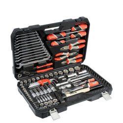 Yato YT-38901 Szerszámkészlet 122 részes 1/2 coll: 12-32 mm, 1/4 coll: 4-14 mm