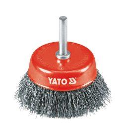 Yato YT-4751 Fazékkefe csapos 75 INOX