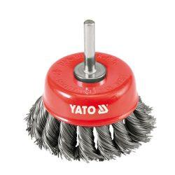 Yato YT-4752 Fazékkefe csapos 75 sodrott