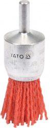 Yato YT-47780 Drótkefe fej NYLON 25 mm