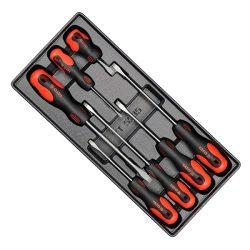 Yato YT-5535 csavarhúzó készlet 7 részes crmo lapos (fiókbetét) yato