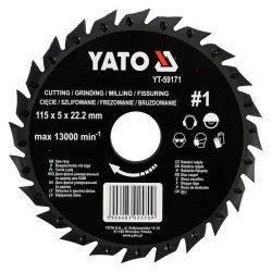 Yato YT-59171 fűrészlap sarokcsiszolóra 115mm no1