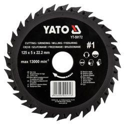 Yato YT-59172 fűrészlap sarokcsiszolóra 125mm no1
