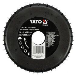 Yato YT-59176 rotációs ráspolykorong széles 118mm yato