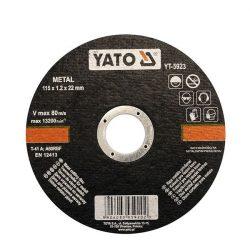 Yato YT-5923 Vágókorong fémre 125x1.2x22