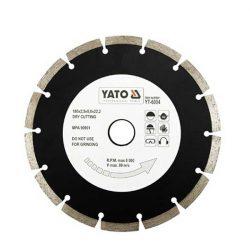 Yato YT-6004 Gyémánt vágótárcsa 180 mm szegmentált