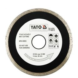 Yato YT-6013 Gyémánt vágótárcsa 125 mm folytonos