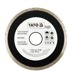 Yato YT-6017 Gyémánt vágótárcsa 200mmx25,4 folytonos (porcelán)