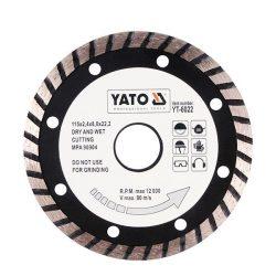 Yato YT-6025 Gyémánt vágótárcsa 230 mm turbo