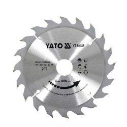 Yato YT-60488 Fűrésztárcsa fához 190/20/30