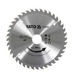 Yato YT-60489 Fűrésztárcsa fához 190/40/30
