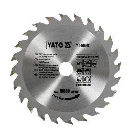 Yato YT-6050 Fűrésztárcsa fához 130/16/24