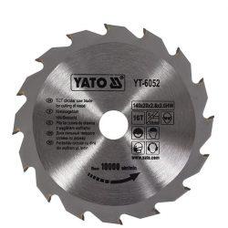 Yato YT-6052 Fűrésztárcsa fához 140/20/16