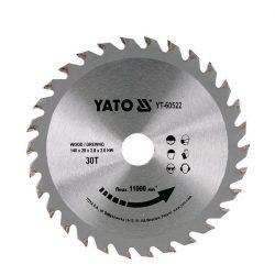 Yato YT-60522 Fűrésztárcsa fához 140/30/20