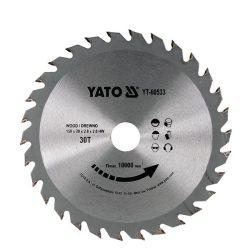 Yato YT-60533 Fűrésztárcsa fához 150/20/30
