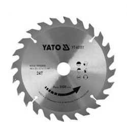 Yato YT-60551 Fűrésztárcsa fához 160/24/20
