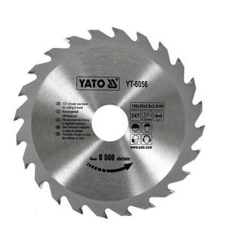 Yato YT-6056 Fűrésztárcsa fához 160/30/24