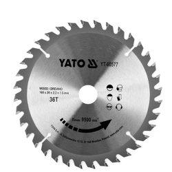 Yato YT-60577 Fűrésztárcsa fához 160/36/20