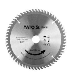Yato YT-60581 Fűrésztárcsa fához 160/60/20