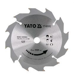 Yato YT-60582 Fűrésztárcsa fához 170/12/16