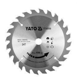 Yato YT-60590 Fűrésztárcsa fához 165/24/16