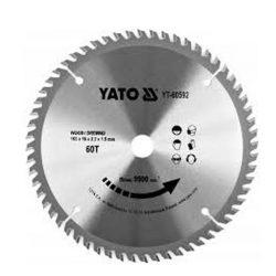 Yato YT-60592 Fűrésztárcsa fához 165/60/16