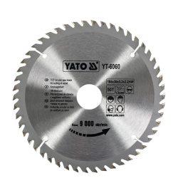 Yato YT-6060 Fűrésztárcsa fához 184/30/24