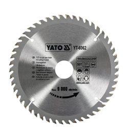 Yato YT-6062 Fűrésztárcsa fához 184/30/50