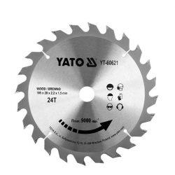Yato YT-60621 Fűrésztárcsa fához 185/24/20