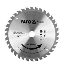 Yato YT-60622 Fűrésztárcsa fához 185/36/20