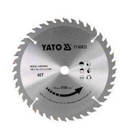 Yato YT-60633 Fűrésztárcsa fához 190/40/16