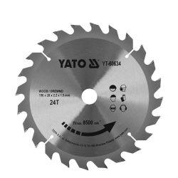 Yato YT-60634 Fűrésztárcsa fához 190/20/24